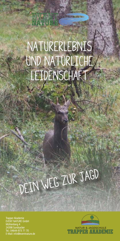 Jagdausbildung Flyer 2020 Event Nature